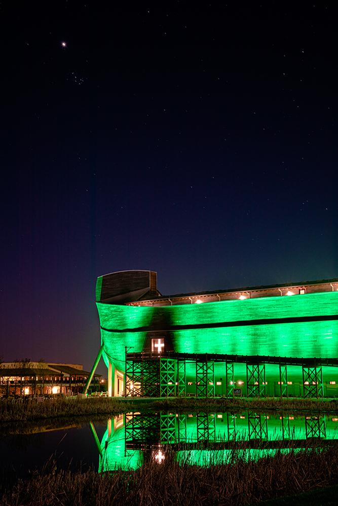 Ark Encounter in Green