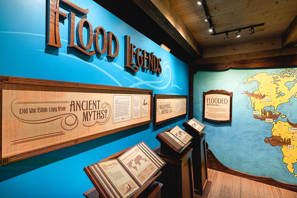 Flood Legends Exhibit
