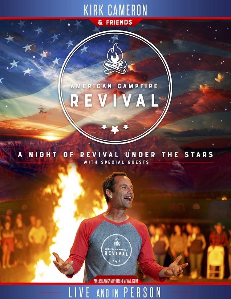 Kirk Cameron's American Campfire Revival Tour