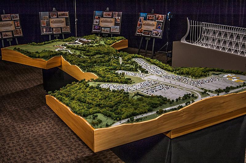 Ark Encounter model