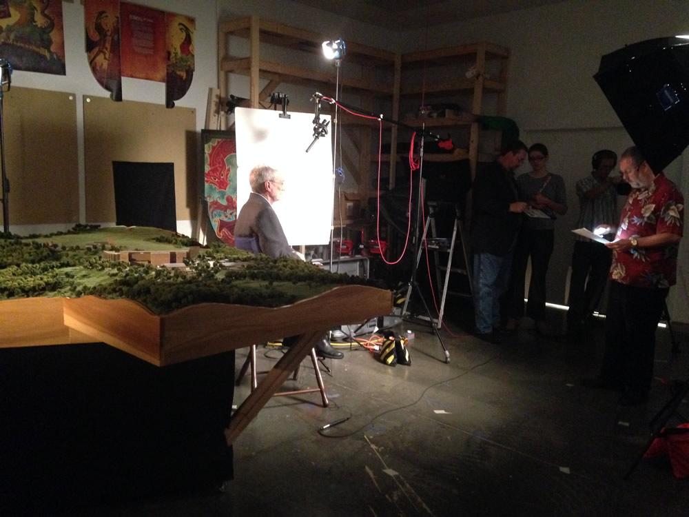 Film Crew Interviews Ken Ham About The Ark Encounter Ark