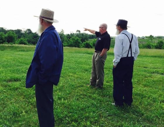 Lehman brothers visit Ark site