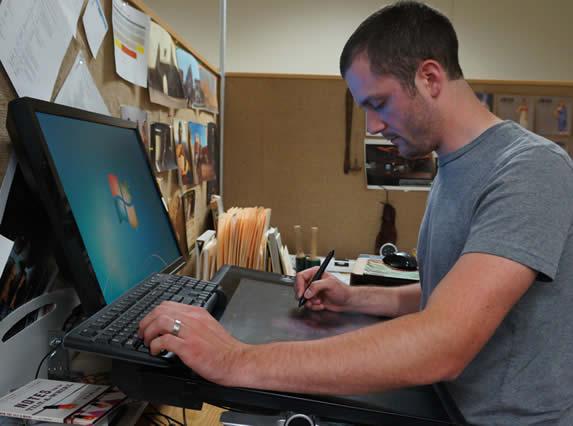 Travis Wilson at Work