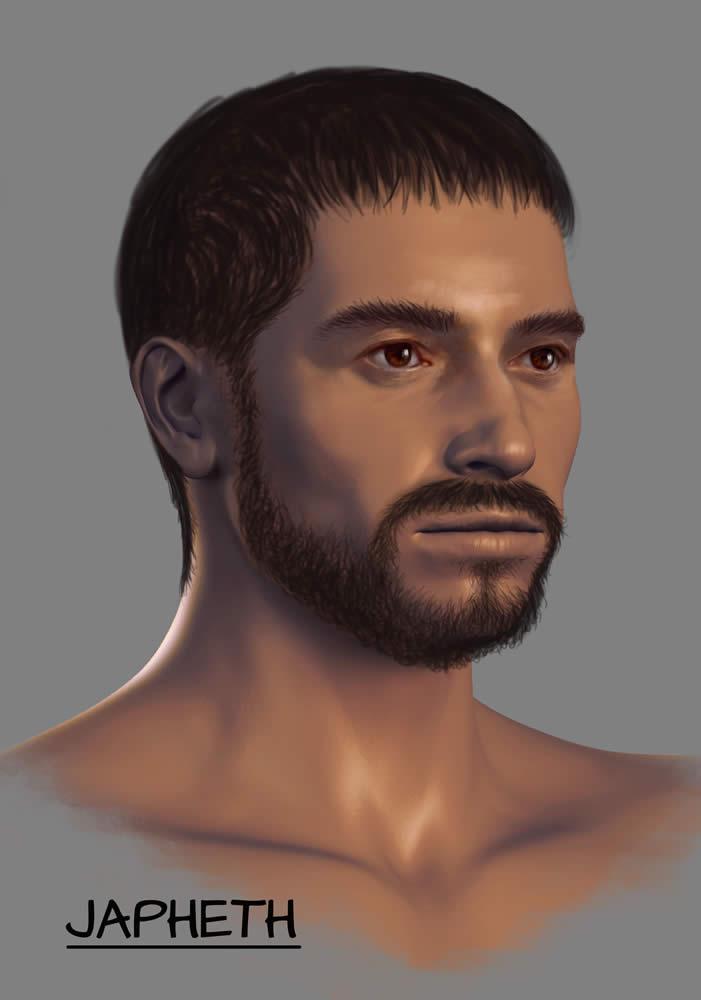 Depicting The Ark S Passengers Japheth Ark Encounter