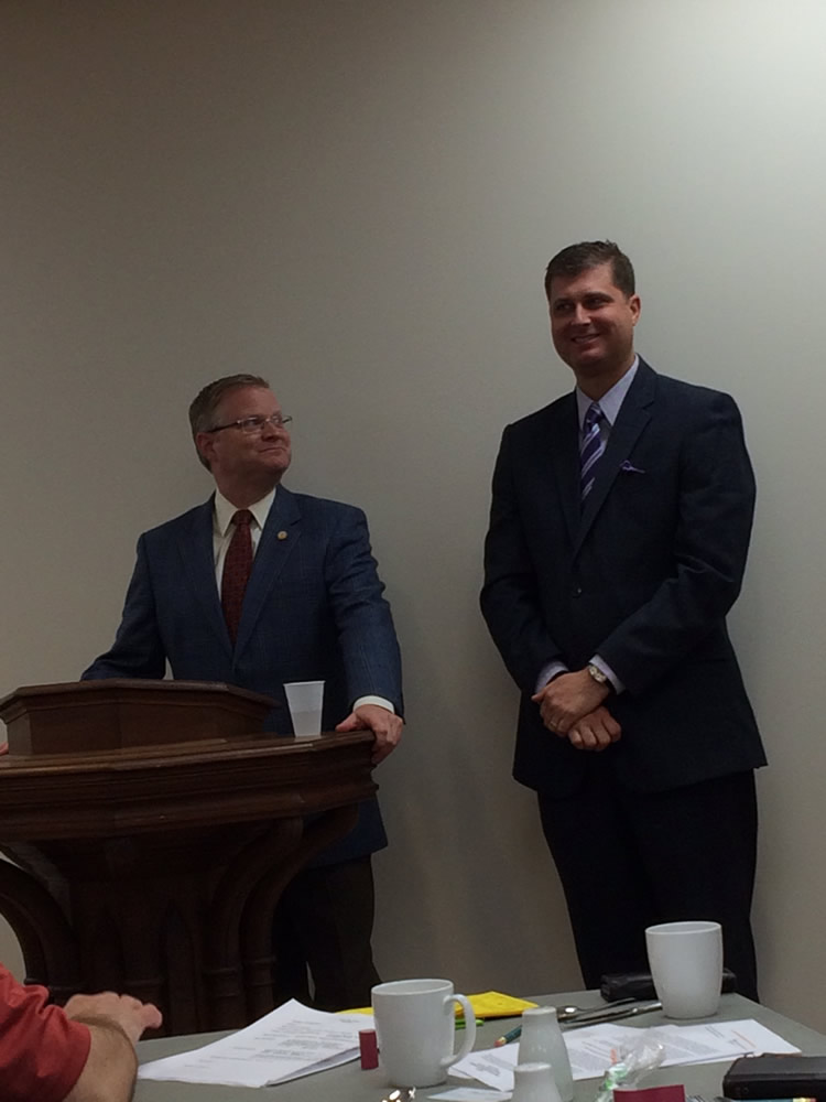 Senator Damon Thayer and Representative Brian Linder