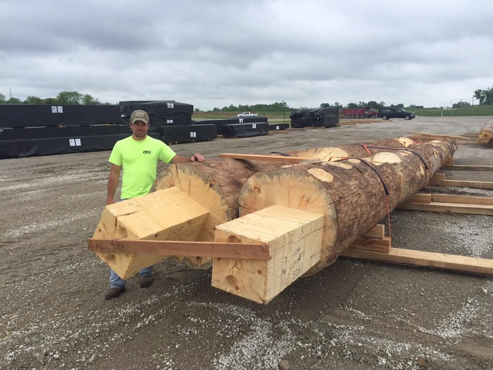 Wood Arriving