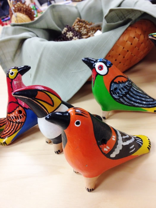 Hand-crafted Birds