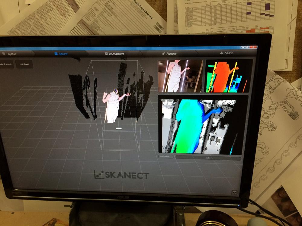 3-D Initial Computer Rendering