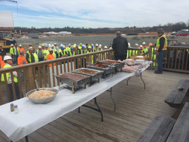Lunch for the Contractors
