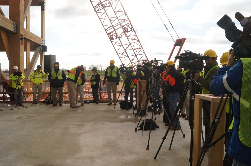 Media at Opening Date Announcement