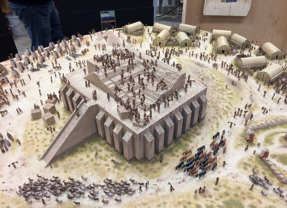 Babel Diorama