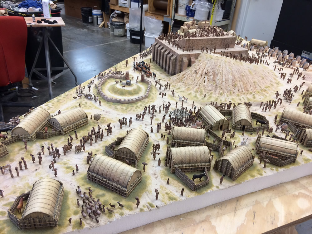 Tower Of Babel Diorama