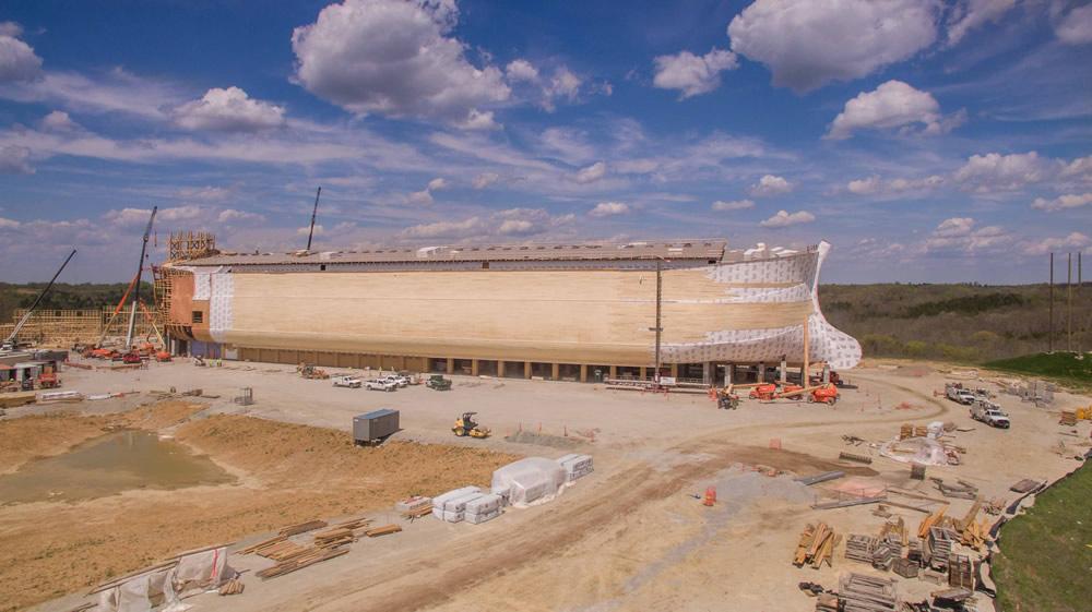 Ark Encounter Under Construction