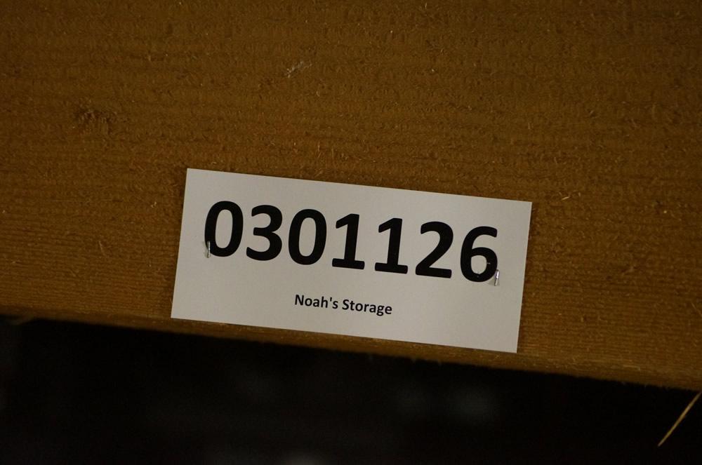 Sign: Noah's Storage