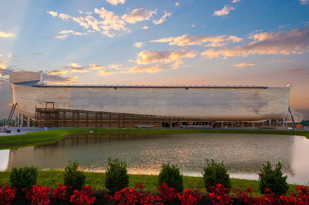 Ark Encounter at Sunset