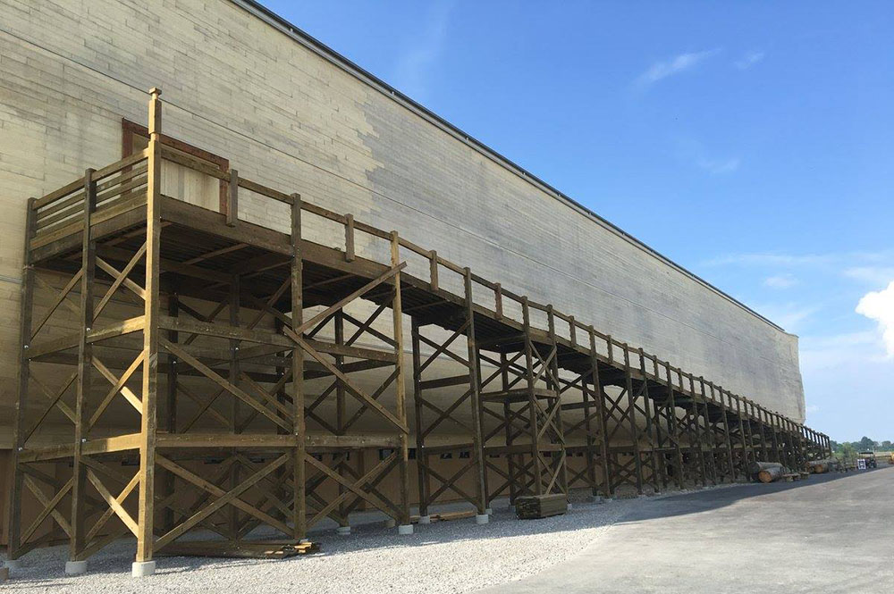 Ark Encounter Wood Ramp
