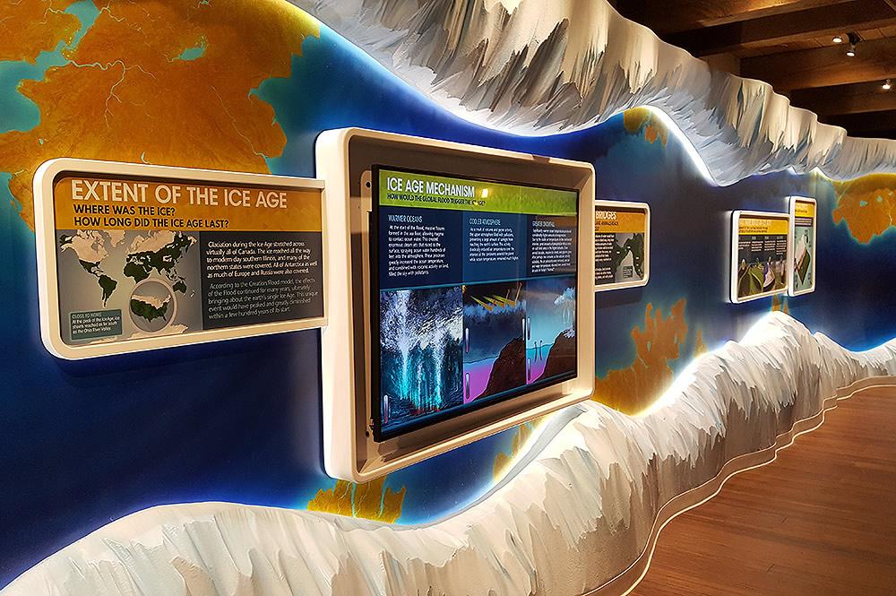 Ice Age Exhibit