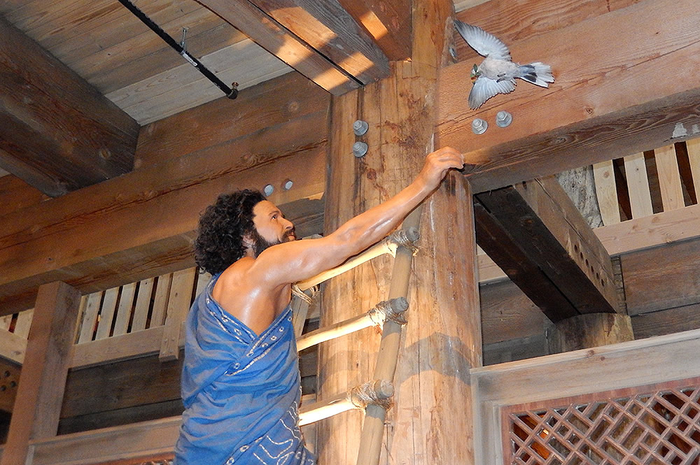 Noah with Returning Dove