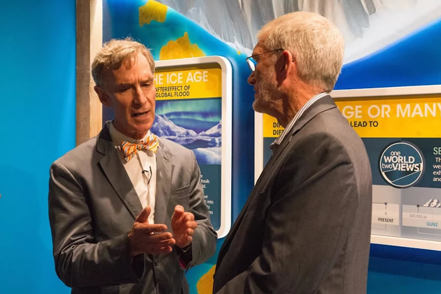 Bill Nye and Ken Ham