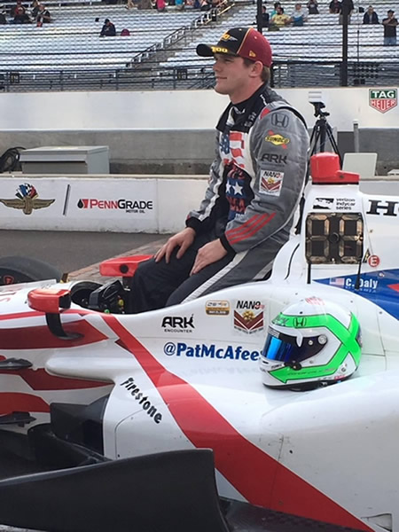 Conor Daly's Car