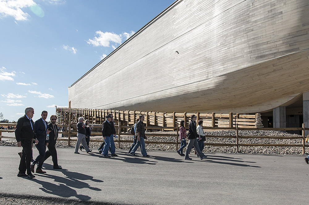 Ray Comfort and Ken Ham at Ark Encounter