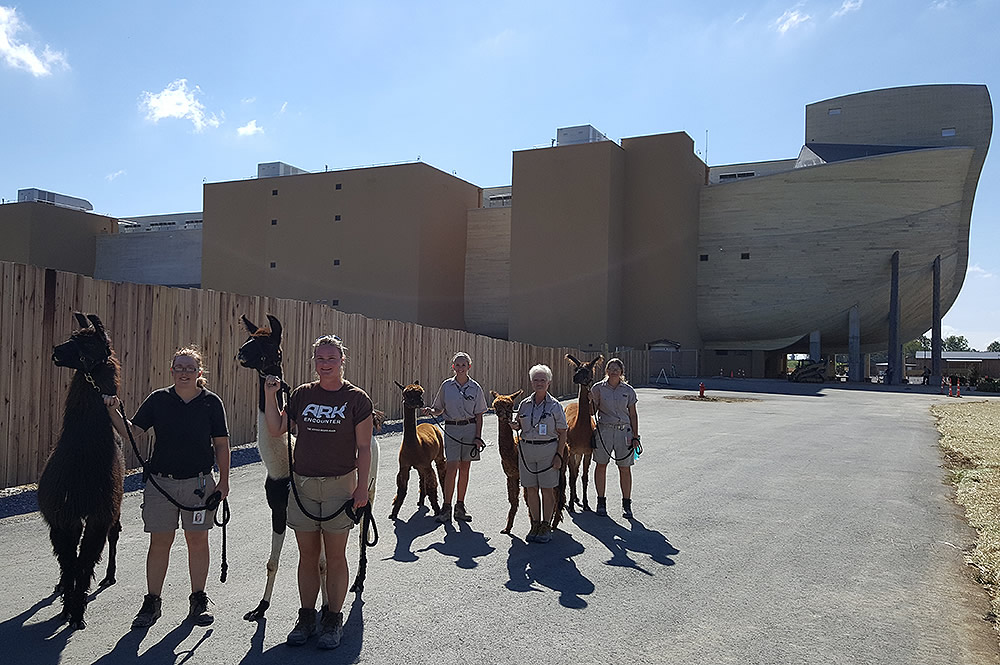 Ark Encounter Staff