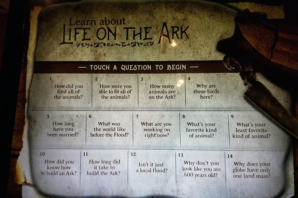 Ask Noah Questions