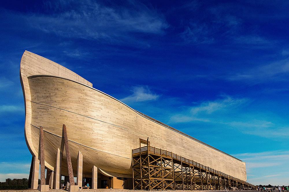 Ark with Blue Sky