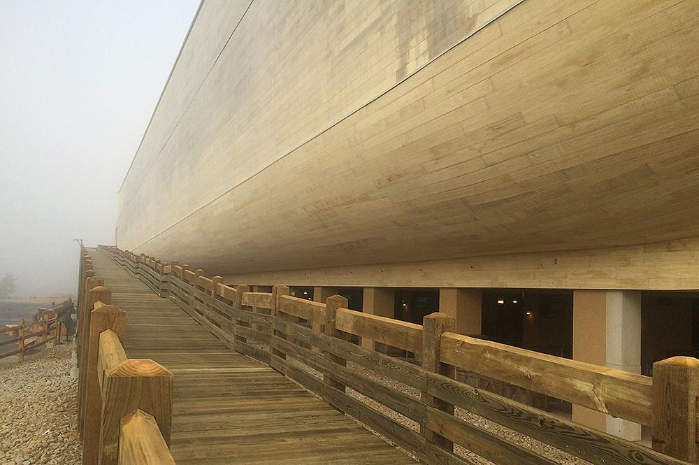 Ark with Fog