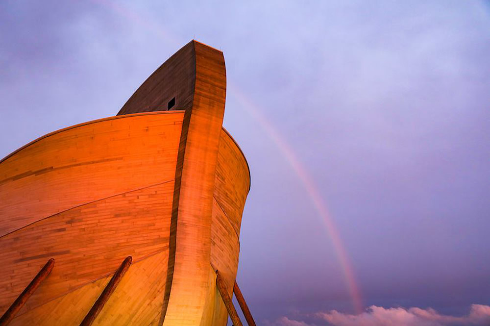Ark with Rainbow
