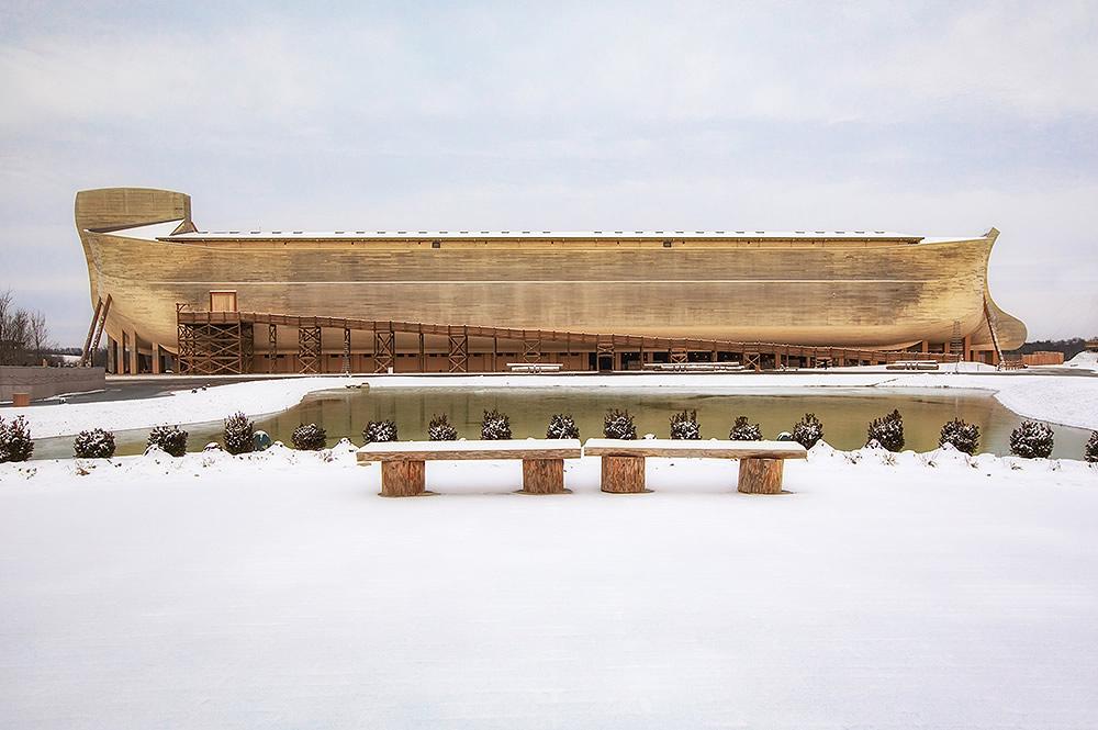 Ark with Snow