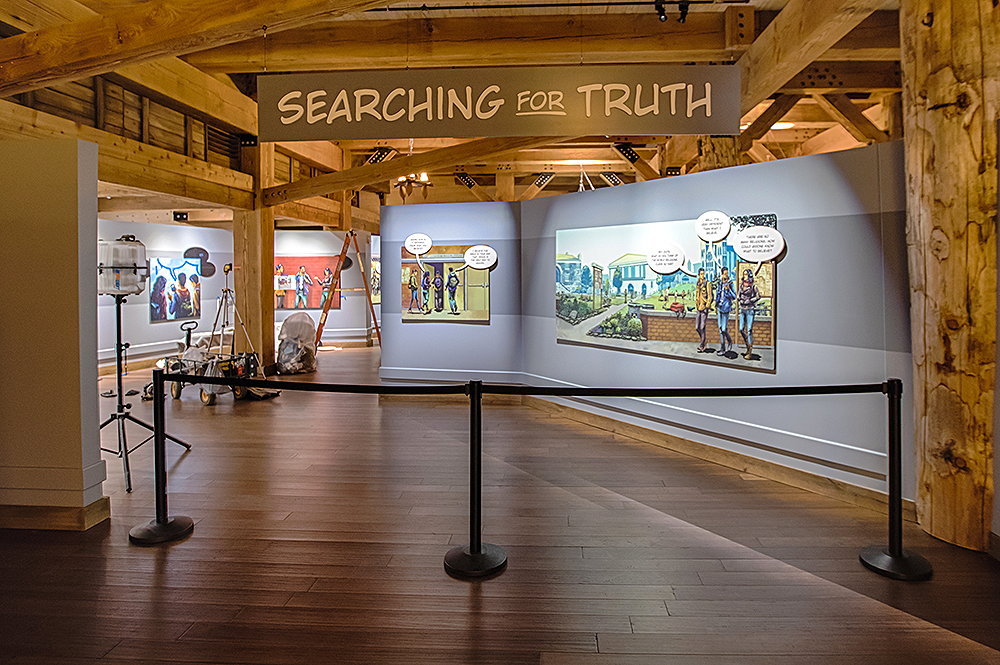 Entrance to the Why the Bible Is True Exhibit