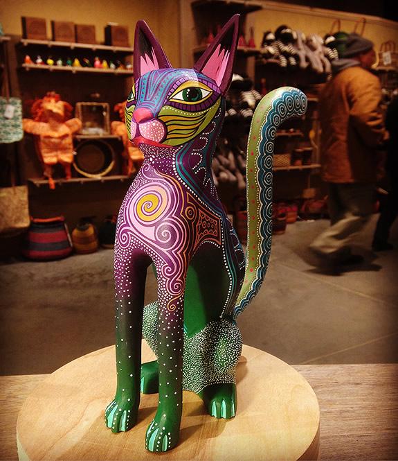 Cat Piece by Oscar Nava