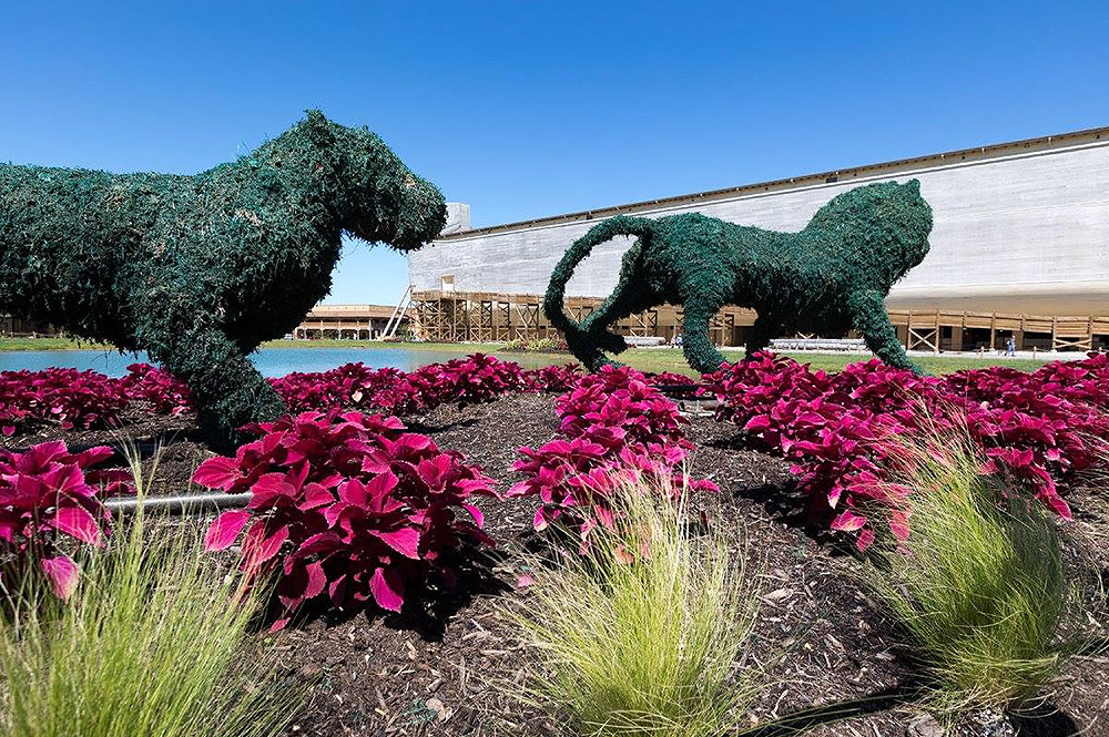 Ark Encounter Topiary Animals