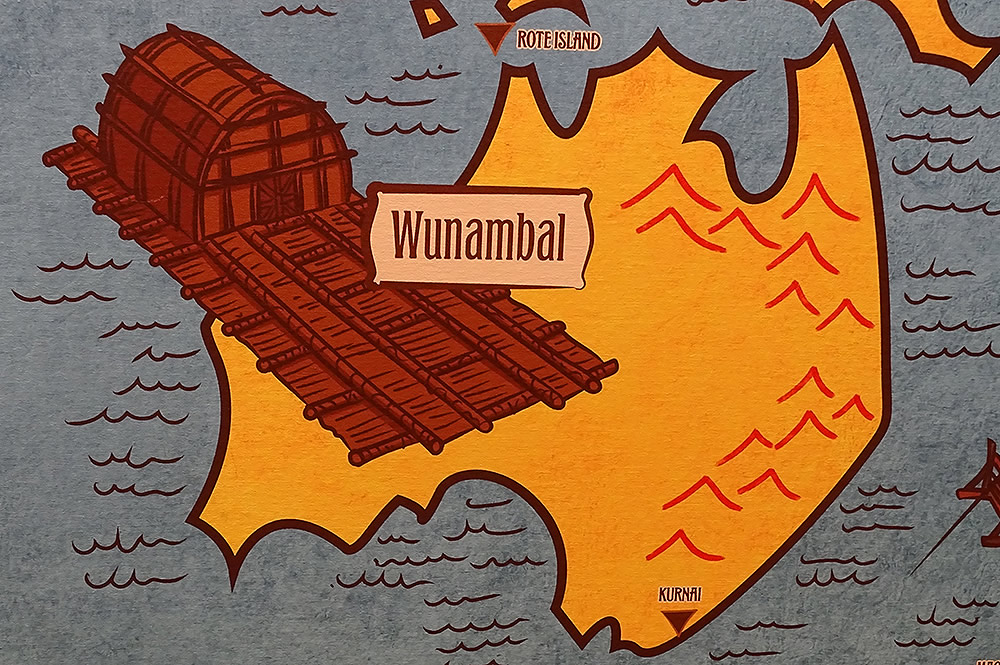 Wunambal Flood Legend