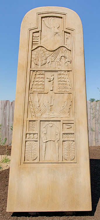 Monument Stone at Ark Encounter