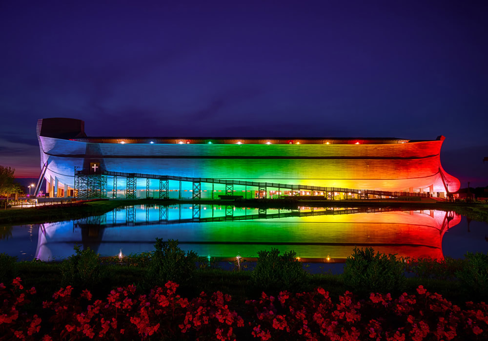 Ark Encounter Rainbow Lights