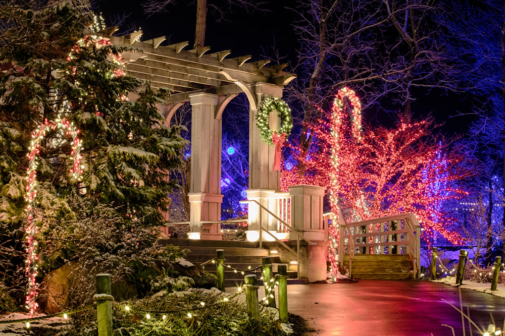 Creation Museum Christmas Town