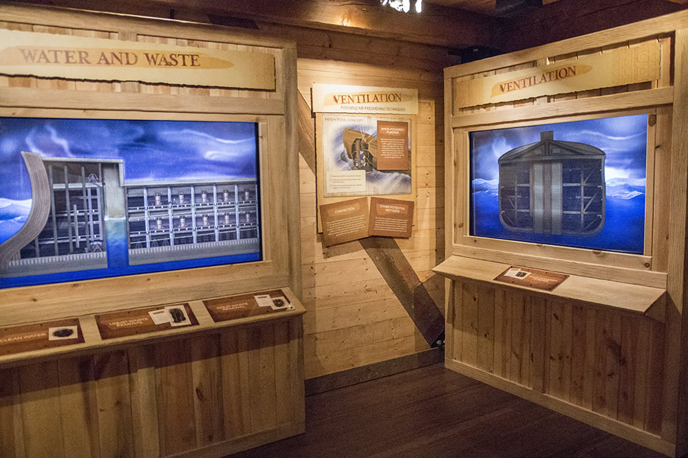 Waste and Ventilation System at Ark Encounter