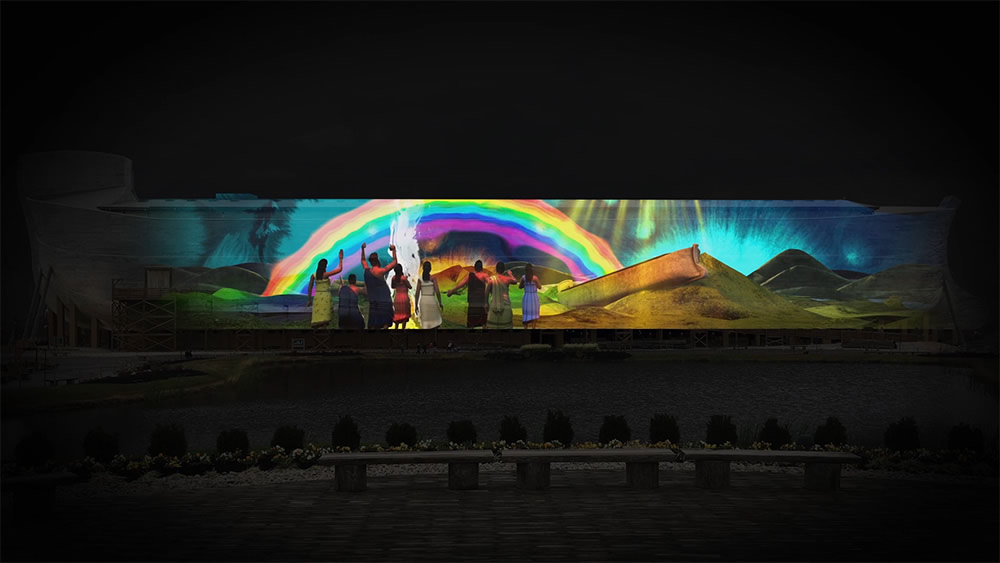 Encounter the Wonder Video Show at Ark Encounter