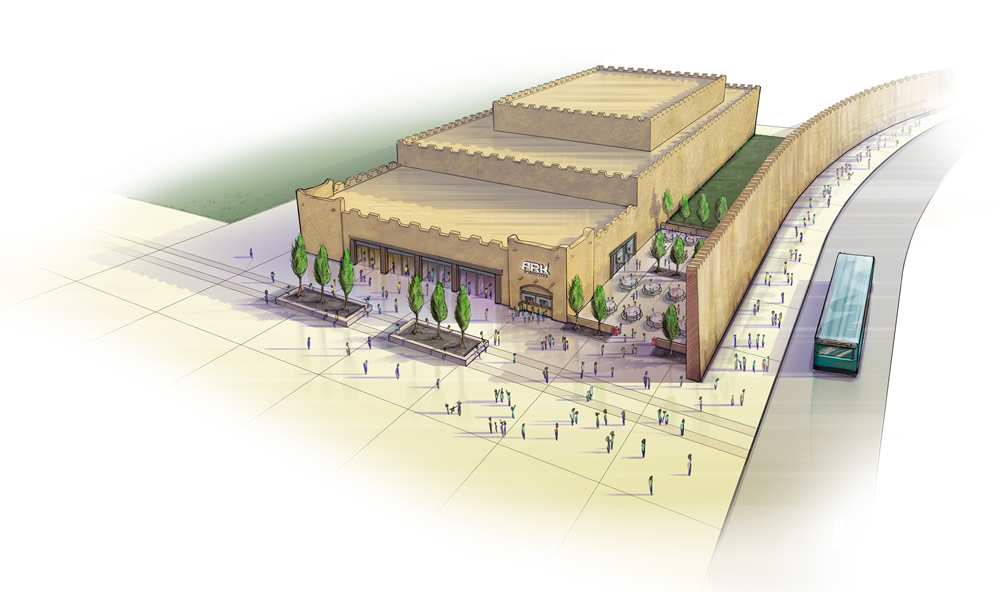 Artwork of Ark Encounter Auditorium