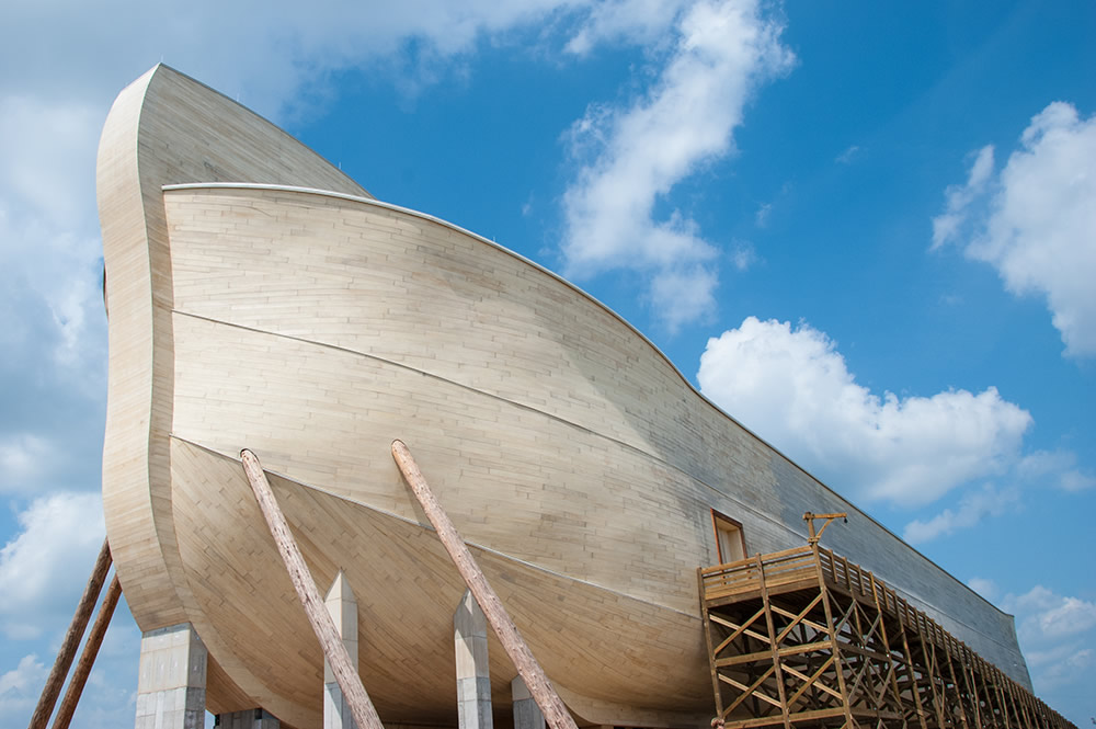 Ark Encounter from Bow