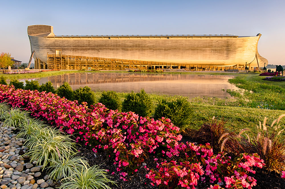 August at Ark Encounter