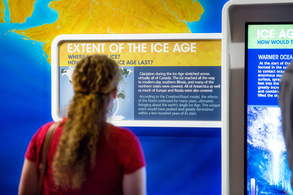Extent of Ice Age