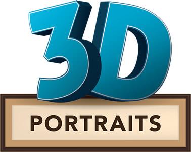 3D Portrait Logo