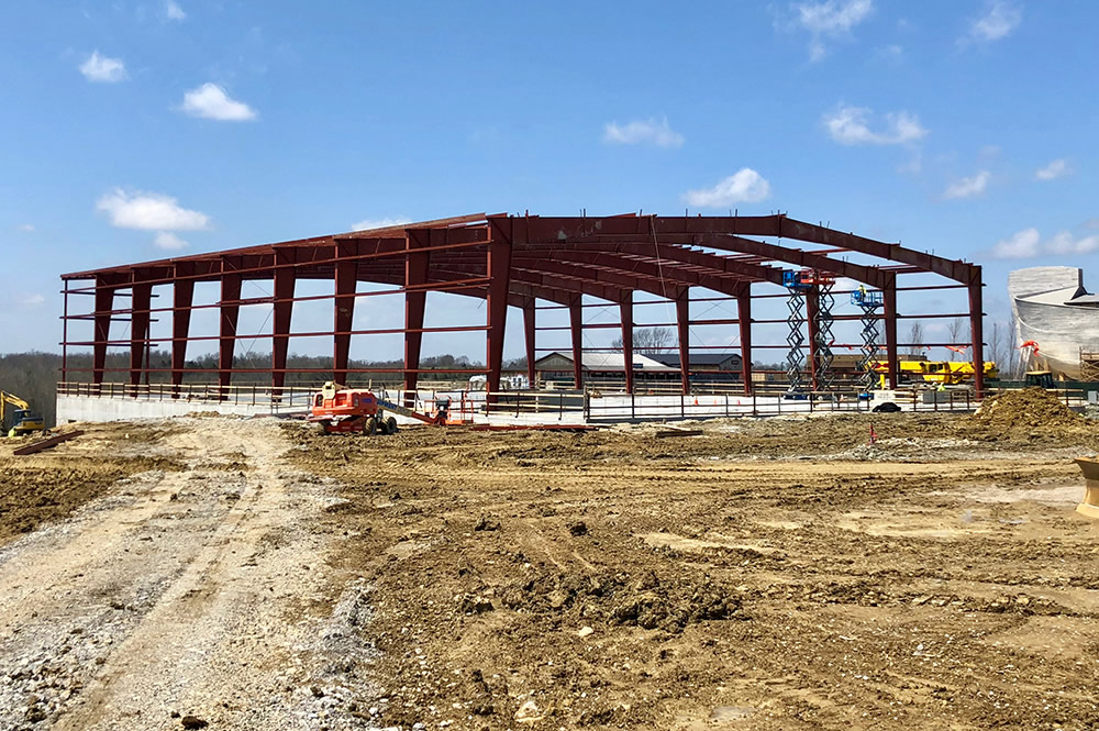 Answers Center Construction at the Ark Encounter