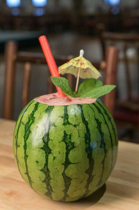 Watermelon Slushie at the Ark Encounter