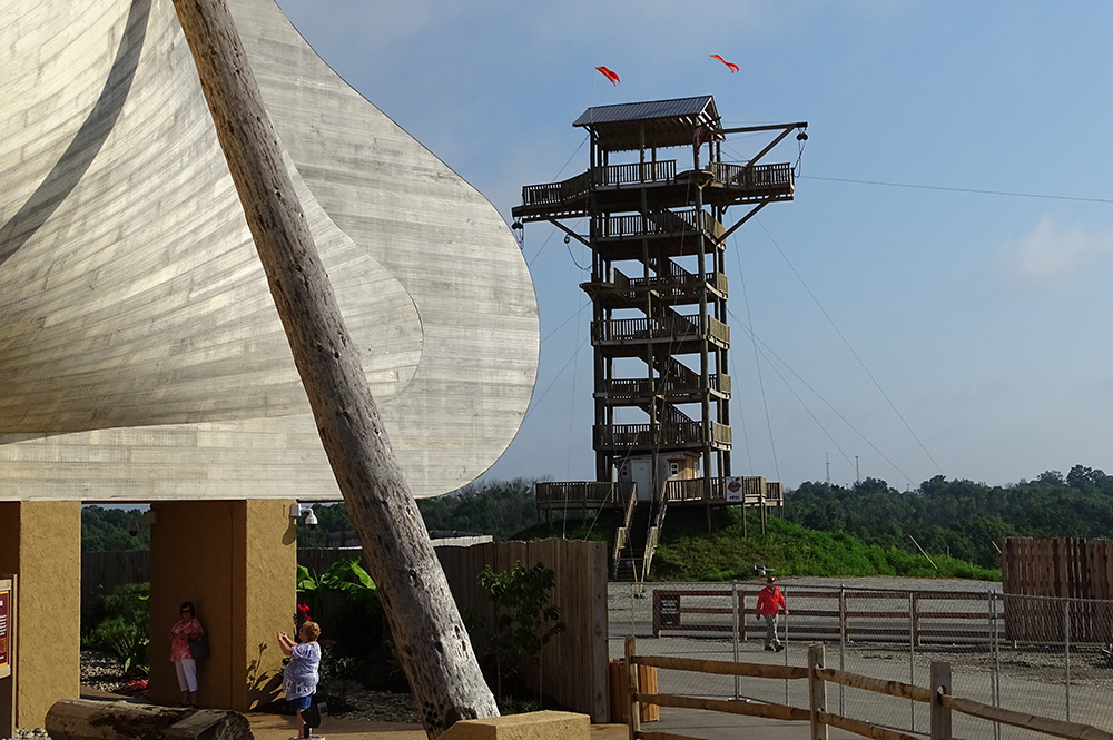 Ark Encounter and Jump Tower