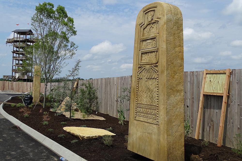 Monument Walk Stele
