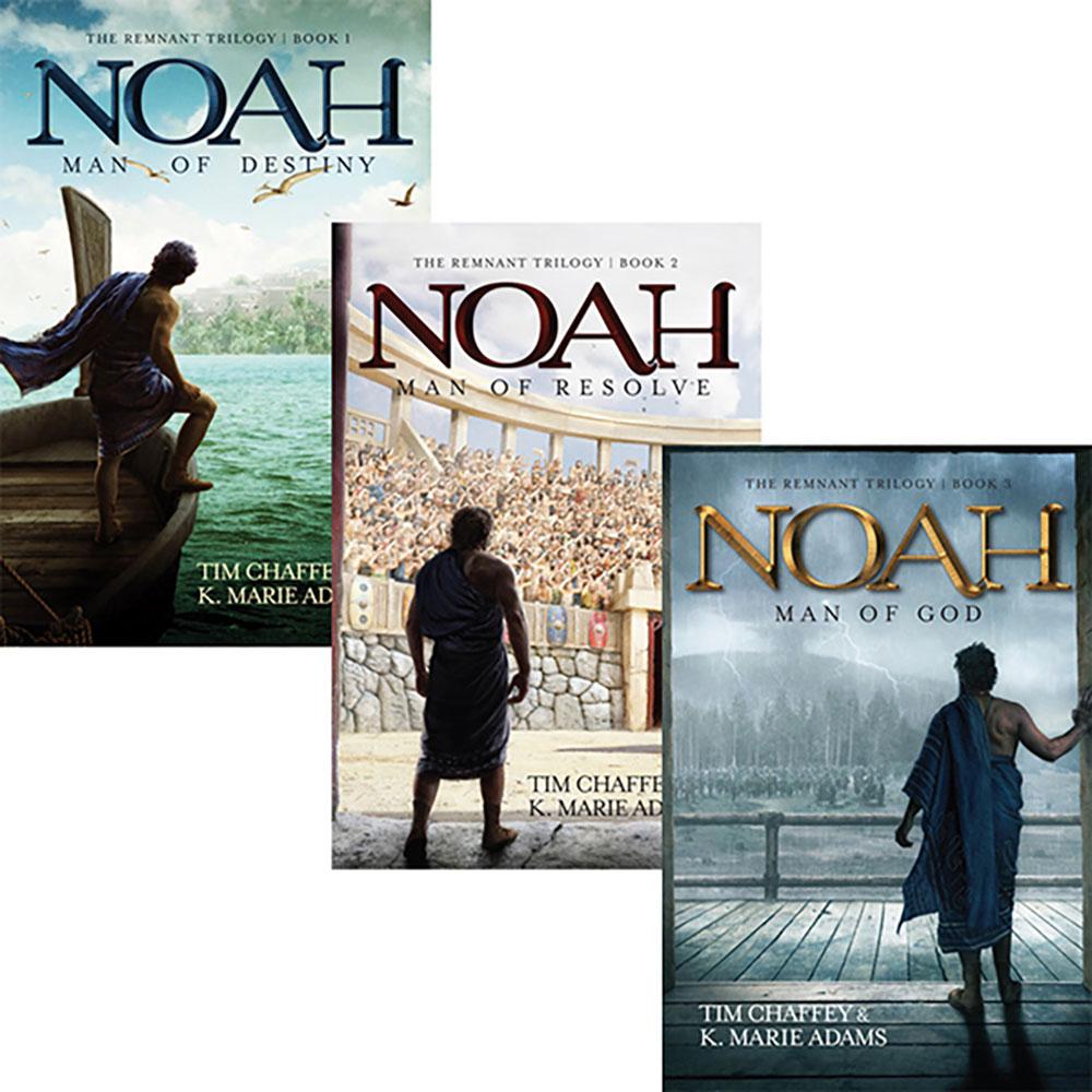 3 Noahs DVDs